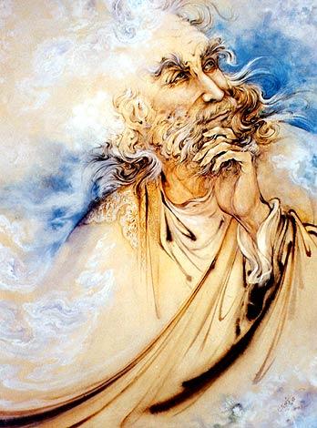 حافظ اثر استاد محمود فرشچیان