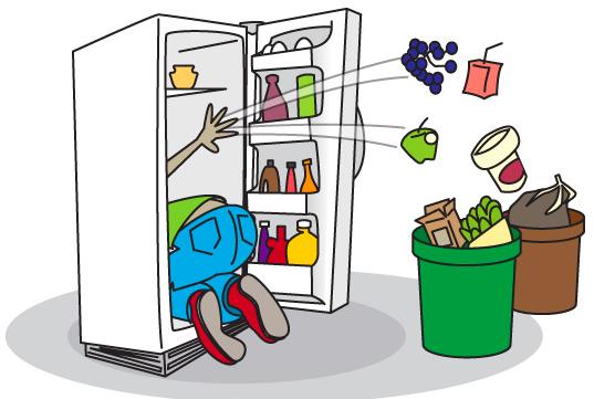 نکاتی برای تمیز کردن یخچال