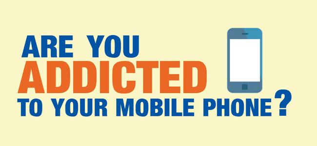 تست چقدر به موبایل معتاد هستید