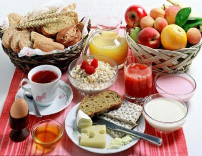 مطالبی درباره صبحانه و اهمیت آن