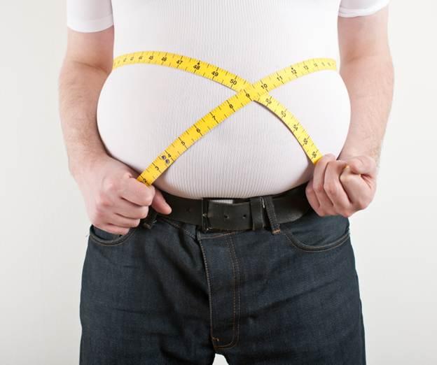 پوکی استخوان در کمین مردان  چاق