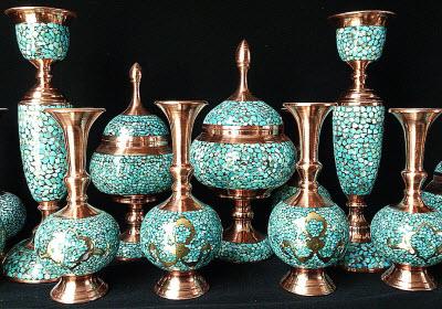 هنر فيروزه كوبي اصفهان