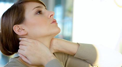 درمان موثر گردن درد