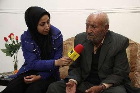 حاج باقر قجاوند اولین تولید کننده نان فانتزی در اصفهان
