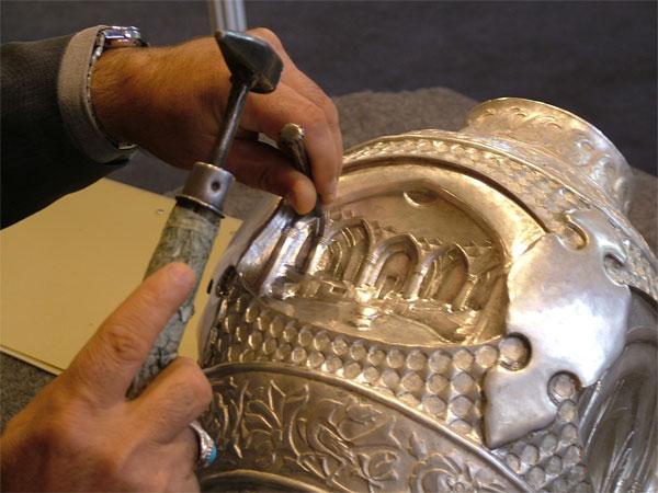 هنر قلمزنی اصفهان