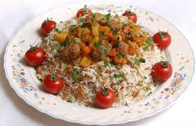 طرز تهیه هویج پلو با گوشت