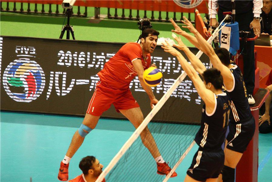 تیم والیبال ایران به ریو نزدیک شد