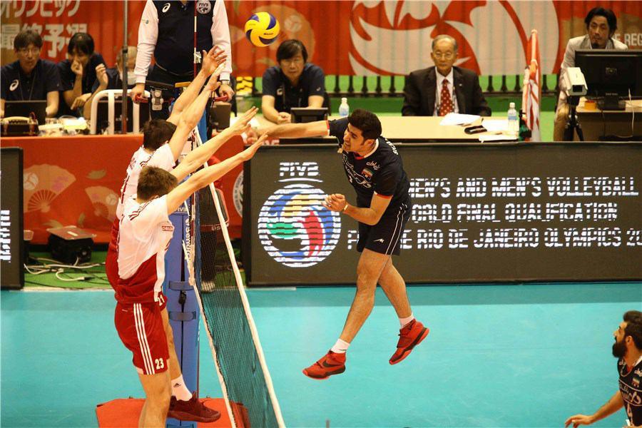 والیبال ایران مسافر ریو