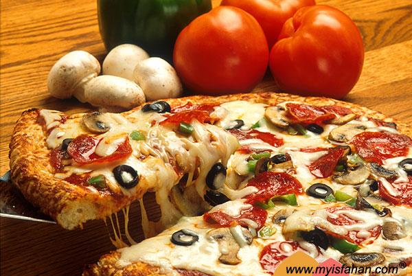 انواع پیتزا و روش پخت پیتزا