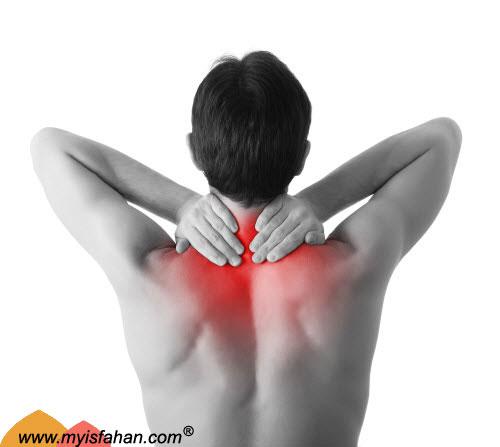 درمان ساده گردن درد