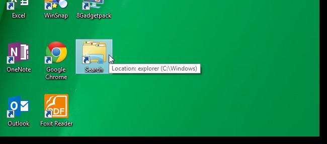 اضافه نمودن یک میانبر برای اکسپلورر ویندوز