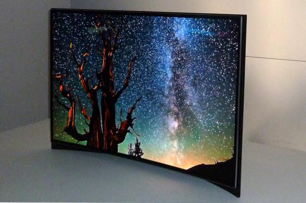 تلویزیون های خمیده محصول جدید دنیای تصویر