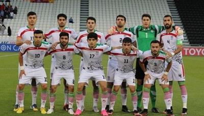 برد تیم ملی فوتبال المپیک ایران از سوریه