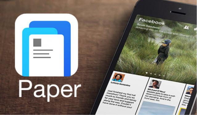بررسی اپلیکیشن Paper مخصوص آیفون