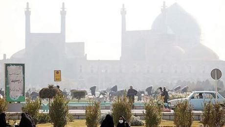 هوای اصفهان آلوده است