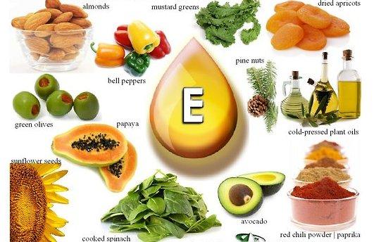 نقش ویتامین E در سلامت بدن
