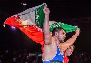 تیم کشتی ایران قهرمان جهان